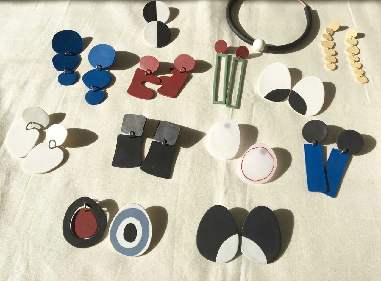 Bold Miró-Inspired Jewelry by Hello Zephyr