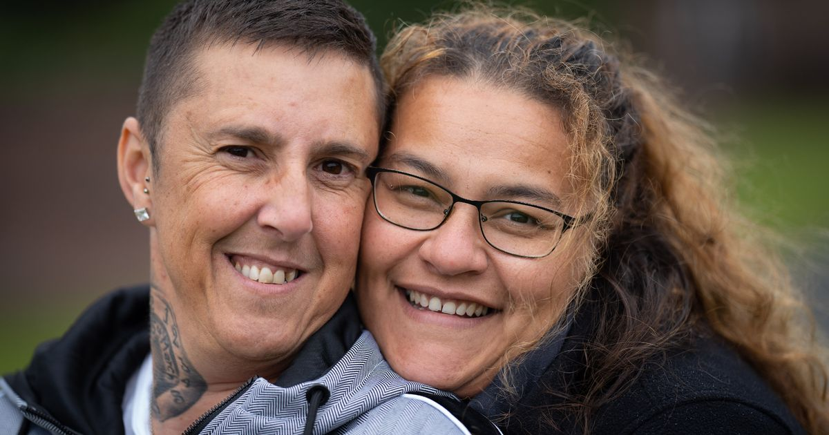 'I divorced lesbian wife over cheating – now he's transitioned and is my hubby'